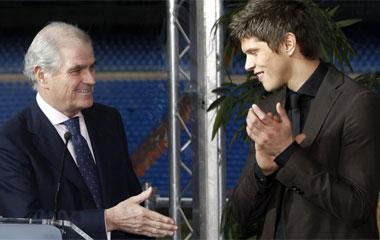 Calderón y Huntelaar