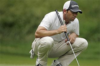 Sergio Garc�a, en el Travelers Championship
