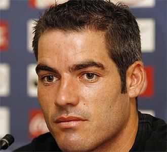 Antonio López, durante una rueda de prensa