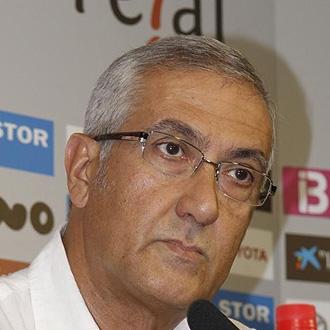 Gregorio Manzano durante una rueda de prensa