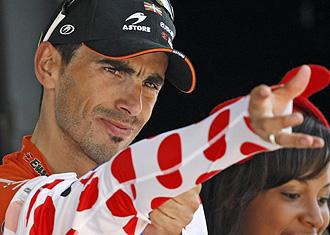 Egoi Martínez se coloca el maillot de puntos tras la decimosegunda etapa