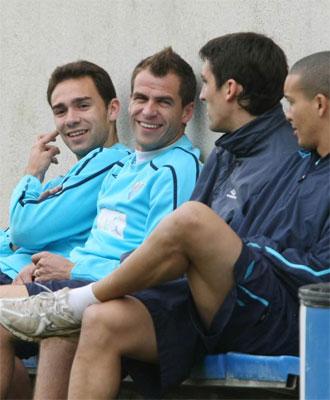 Lolo y Duda pueden volver a defender los colores del Málaga.