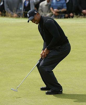 Tiger suma el segundo gran borr�n de su carrera.