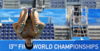 El saltador español Javier Illana.