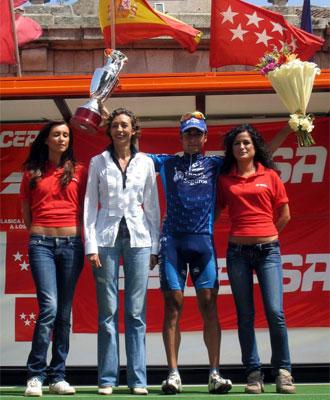 Guerra, vencedor de la Vuelta a Madrid.
