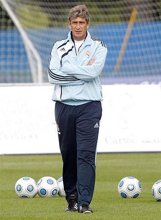 Manuel Pellegrini hará sus primeras pruebas.