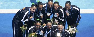 Equipo español de natación sincronizada
