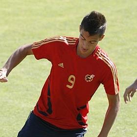 Joselu hizo un gol.