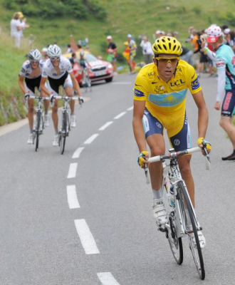 El ataque de Contador que dejó atrás a Kloden.