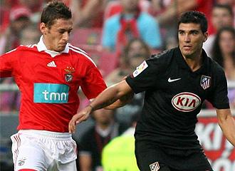 Reyes, contra el Benfica