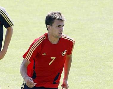 Jordi Pablo, con la sub 19