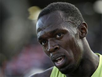 Bolt, después de la carrera