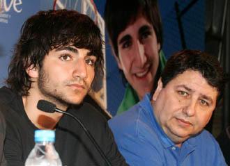 Ricky Rubio y su padre, Esteve