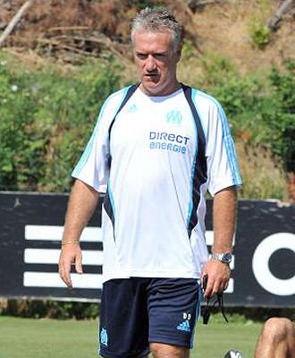 Didier Deschamps entrena al Olympique de Masella