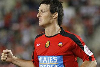 Aduriz, durante un partido con el Mallorca