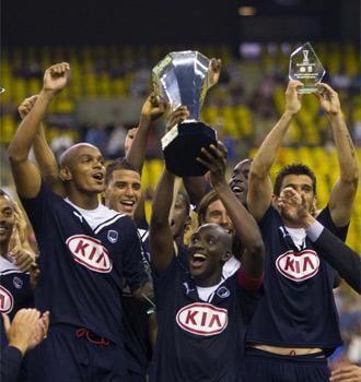 El Girondins alza la Supercopa francesa