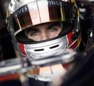 Jaime Alguersuari, en su primera carrera en el Mundial de Fórmula Uno, este domingo en el GP de Hungría