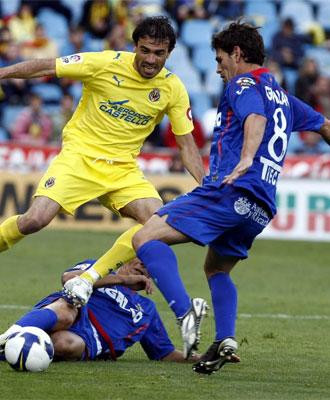 Gavilán durante un partido de la pasada campaña.