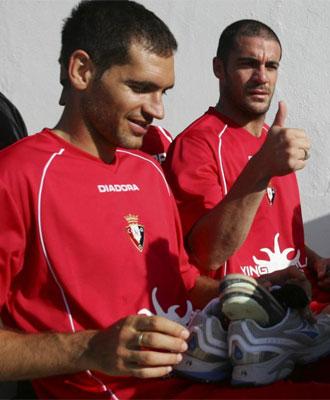 Los jugadores regresan a Pamplona.