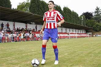 Botia, el día de su presentación como jugador del Sporting.