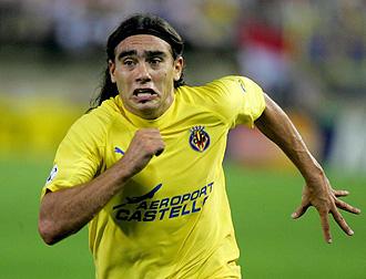 Sor�n jugando con el Villarreal