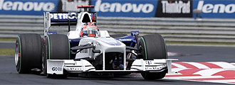 Kubica, con el BMW