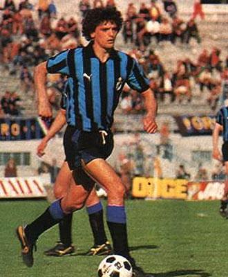 Alessandro Altobelli, durante un partido con el Inter, en una imagen de archivo