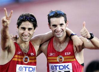 Paquillo Fern�ndez y Juan Manuel Molina, en una imagen de archivo.