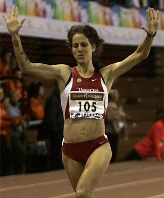 Natalia Rodr�guez reedita el campeonato de Espa�a.