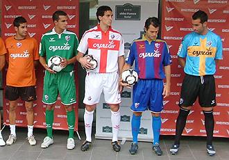 El Huesca estrenar� sus nuevas equipaciones tras completar su conversi�n en Sociedad An�nima Deportiva