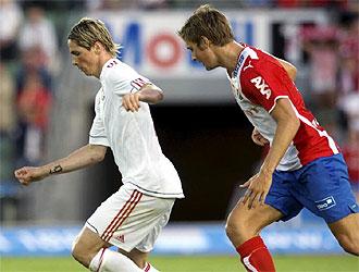 Fernando Torres no vio puerta frente al Lyn.