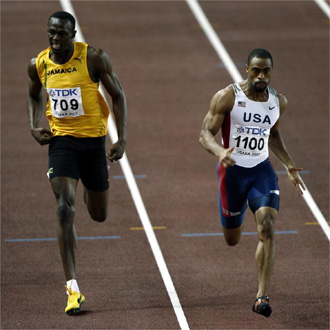 La lucha entre Bolt y Gay en los 100 metros lisos ser� uno de los grandes atractivos del campeonato.