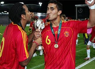 Montoro fue campeón de Europa sub 19 en 2007.