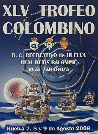 Cartel del Trofeo Colombino.