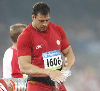 Mario Pestano, en los Juegos Olímpicos de Pekín 2008