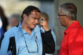 Gregorio Manzano, entrenador del Mallorca