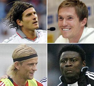 Mario G�mez, Hleb, Tymoschuk, Martins.