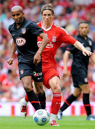Fernando Torres jugó por primera vez contra 'su' Atlético.