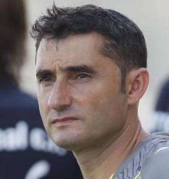 Valverde entren� a Jarque durante su etapa en el Espanyol.