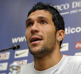 García, en rueda de prensa