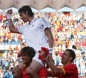 Espa�a espera repetir el �xito de Marbella en Murcia