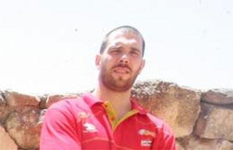 Guillem Rubio, jugador de la selecci�n espa�ola de baloncesto