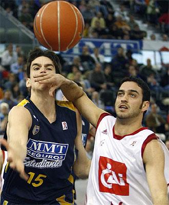 Roberto Guerra durante un partido de la pasada temporada.