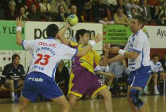 Pevarfesa Valladolid durante un partido