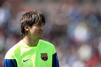 Messi, en la gira azulgrana por San Francisco