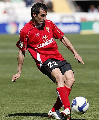 David De Coz, durante el partido ante el Elche de la pasada temporada.