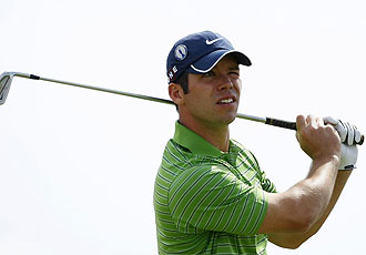 Paul Casey, durante el British Open
