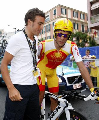 Contador y Alonso podrían crear un equipo.