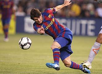 Messi no jugar� el primer partido oficial.
