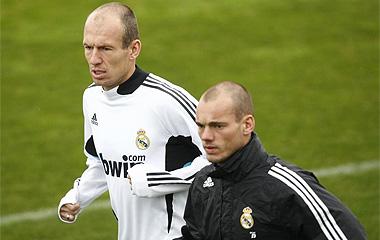 Robben y Sneijder